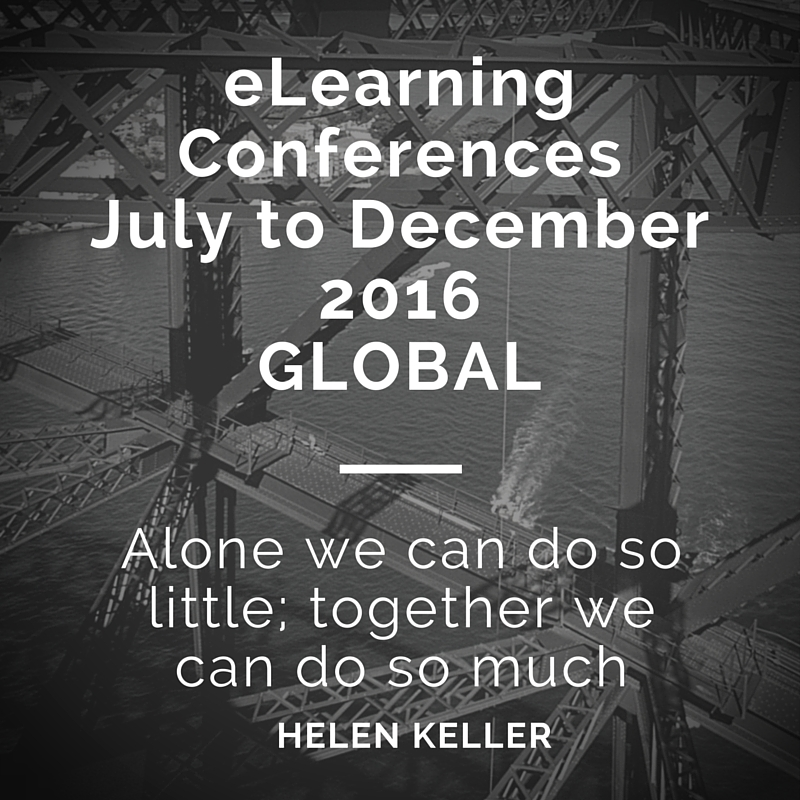 Education and Technology Conferences January to June 2015